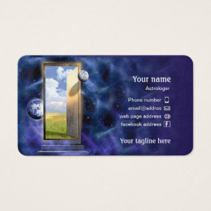 Taglines business cards templates zazzle business card for astrologer colourmoves