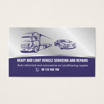Business card  for Auto services