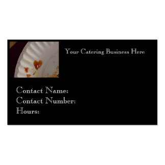 Business Card for Caterer or Restaraunt