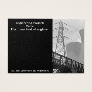 Business card for engineers