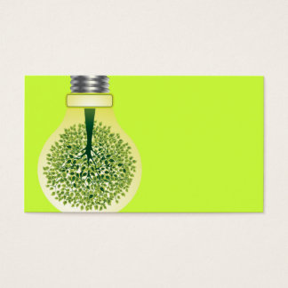 business card for environmental protection