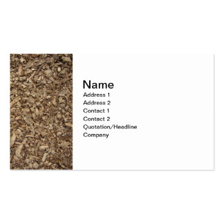 Business card for gardener and landscaper
