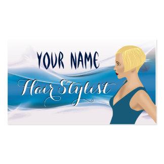 Business card for hairdresser