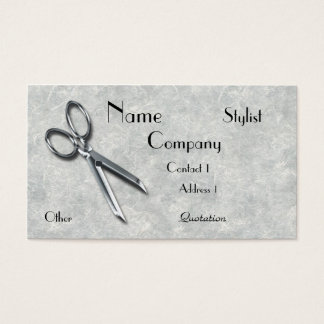 Business Card for Hairstylist