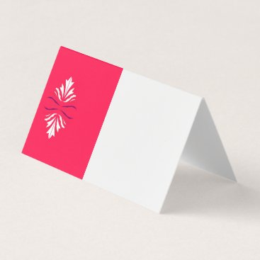 Professional Business Business card  for Hotel exclusive  red