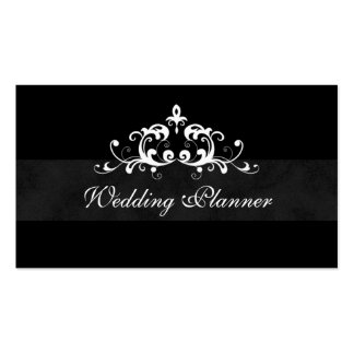 Business Card Formal Wedding Event Planner
