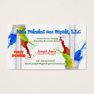 Business Card (Fully Insured)-Sample