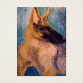 Business Card, German Shepherd Rescue Business Card