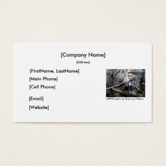 Business Card / German Shorthaired Pointer