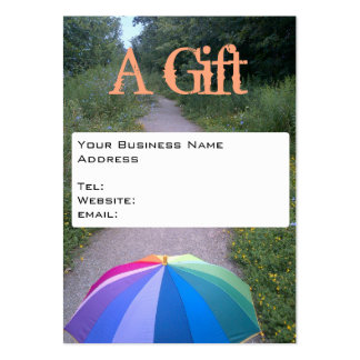 Business Card Gift Certificate by RoseWrites