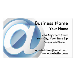 Business Card Glossy Web Icon