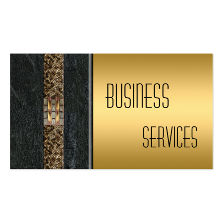 Business Card Gold Black Stone Business Card Templates