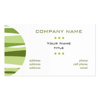 Business Card  - Green