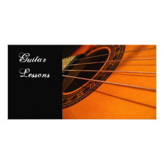Business card: Guitar Lessons Card