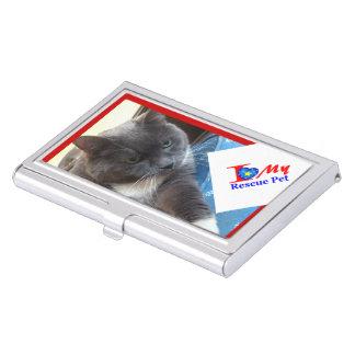 """Business Card Holder"" Custom Case For Business Cards"
