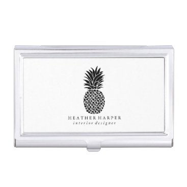 Professional Business Business Card Holder - Pineapple