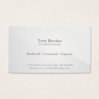 Business Card | Horizon |greysilver