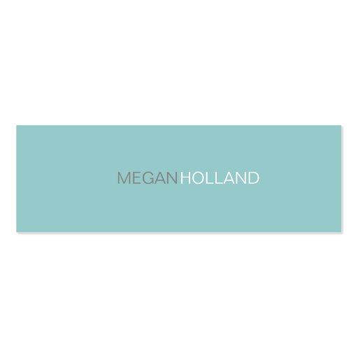 Business Card   II Tones-  blu
