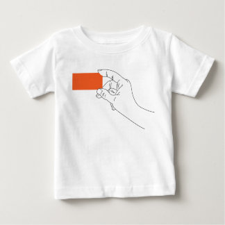 business card in the hand  - template baby T-Shirt