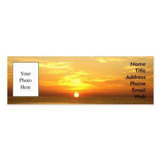 Business Card - Italian Sunrise over the Adriatic