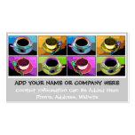 Business Card - Java Addictions Pop Art