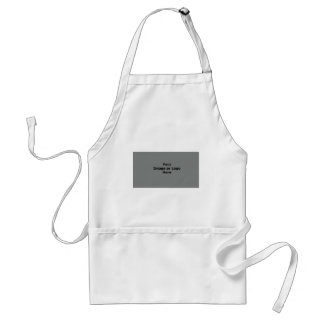 Business Card Logo Here Gray The MUSEUM Zazzle Gif Adult Apron