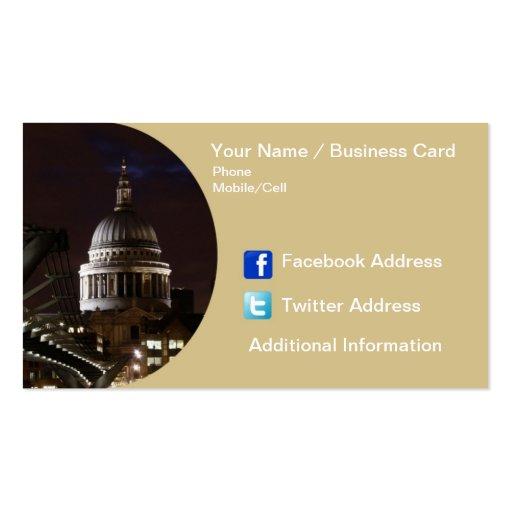 Business Card - London