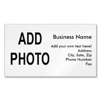 Business Card Magnet Create Your Own