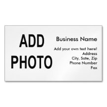 Business Card Magnet Create Your Own Magnetic Business Cards