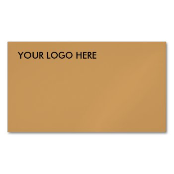 Business Card Magnetic Logo Marketing Tools by CREATIVEforBUSINESS at Zazzle