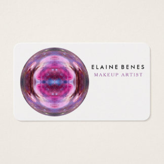 business card makeup and beauty