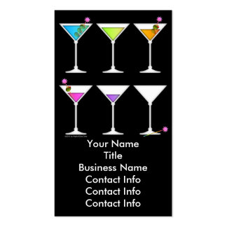 Business Card - Martinis Going, Going, GONE