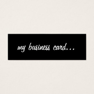 Business Card   me-blw