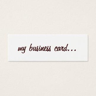 Business Card   me-wbr