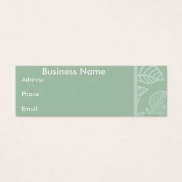 Professional Business Business card Mint Leaf