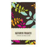 BUSINESS CARD :: modern leaves 2P