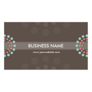BUSINESS CARD modern retro spot