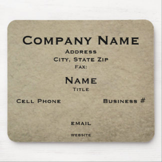 Business Card Mousepad (v.2)