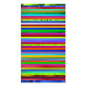 Business Card - Multicolor Abstract Art
