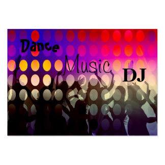 Business Card Music DJ Dance Party