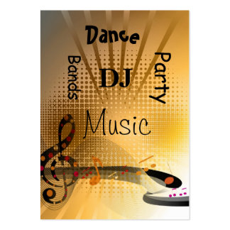 Business Card Music DJ Dance Party Bands