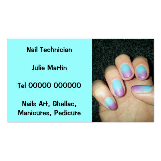 Business Card - Nail Technician