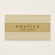 BUSINESS CARD :: nautical striped 17