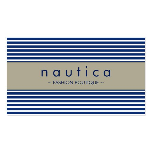 Nautica business card templates page10 bizcardstudio business card nautical striped 25 reheart Choice Image