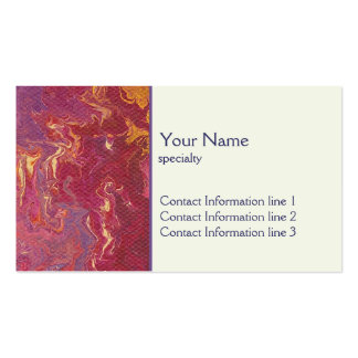 Business Card - Nebula