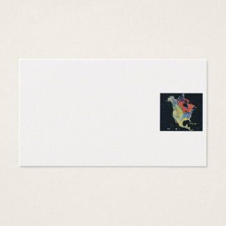 Business Card /  North American Geology