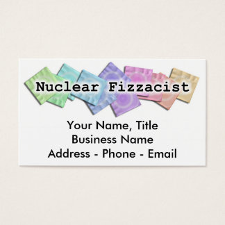 Business Card - NUCLEAR FIZZACIST