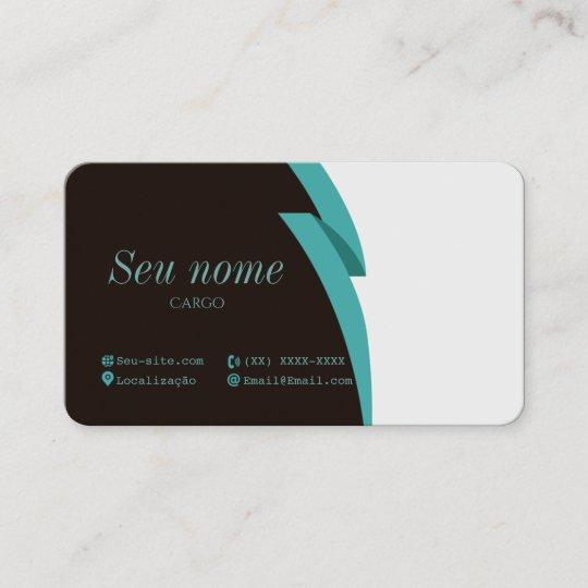 Carto de visita office blue business card zazzle business card office blue colourmoves