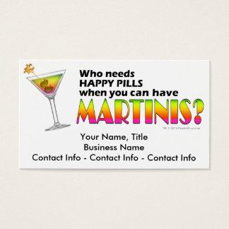 Business Card - Olive Martini