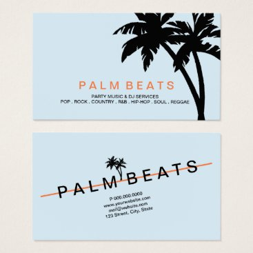 Professional Business Business Card - Palms Ascending